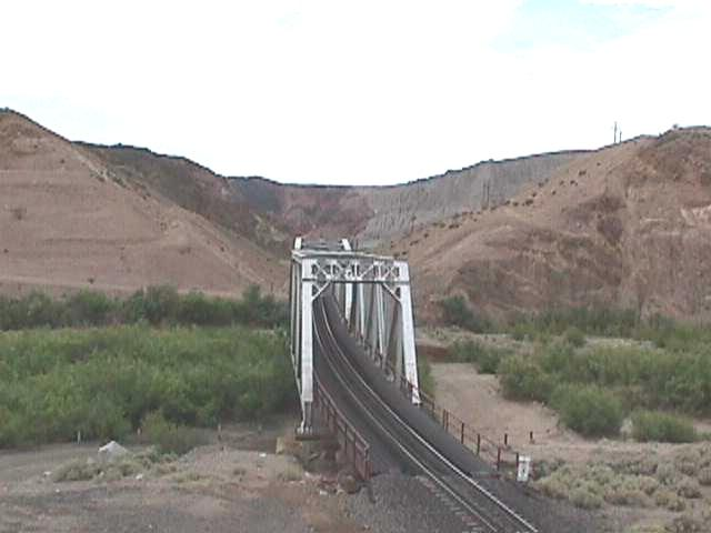 Afton Canyon bridge - Barstow