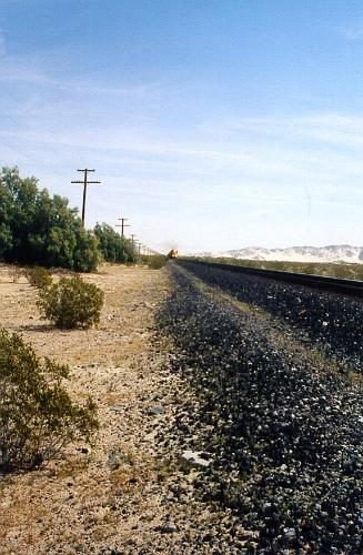 Afton Canyon train tracks