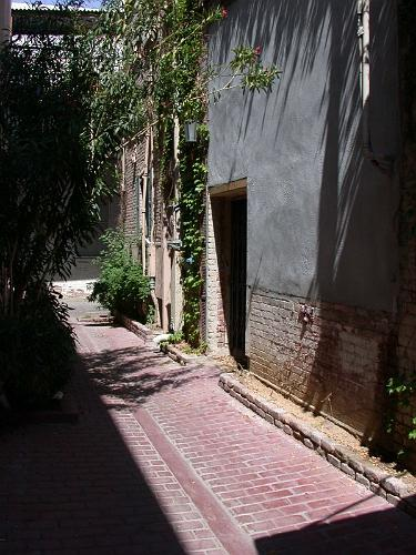 Alley Walkway - Riverside