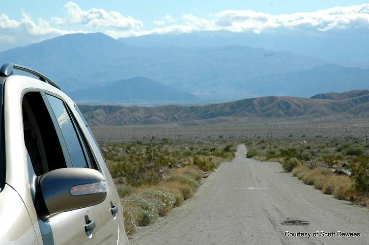 Berdoo Canyon Road - Indio