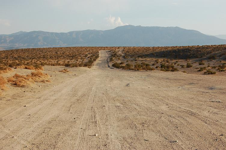 Bessemer Mine Road - Lucerne Valley