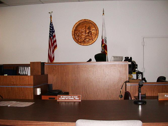 Big Bear Lake Courtroom