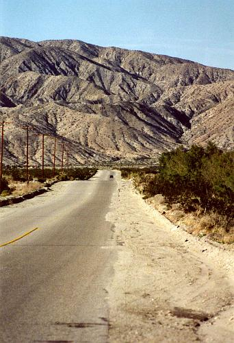 Box Canyon Road - Chiriaco Summit