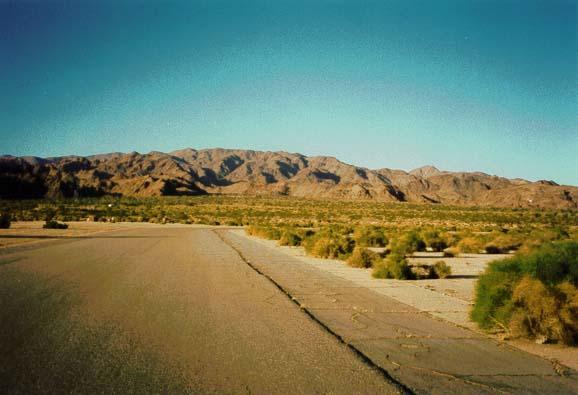 Chiriaco Airport Road