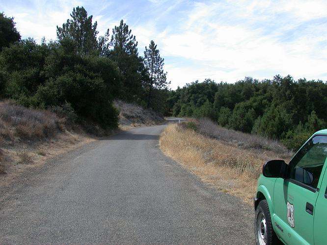 Cleveland National Forest Road