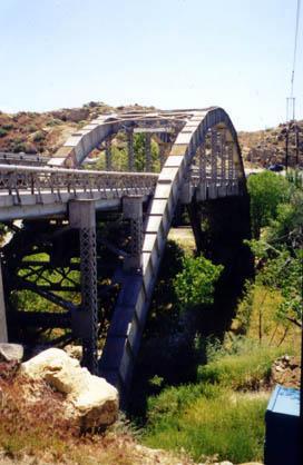 D Street bridge - Victorville