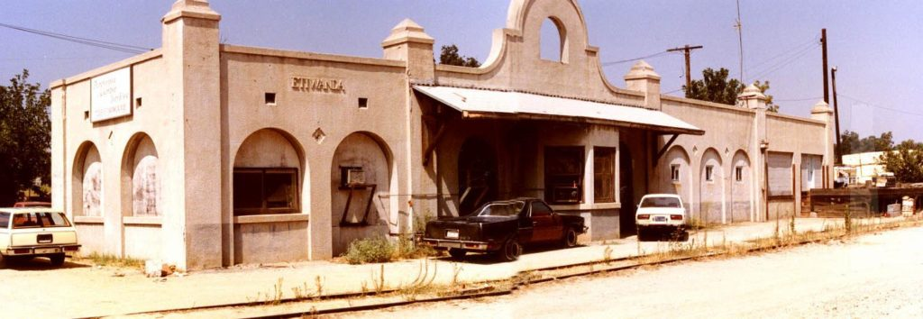 Etiwanda Train Station