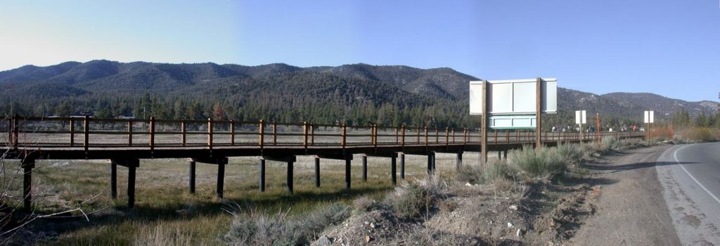 Foot bridge - Big Bear Lake