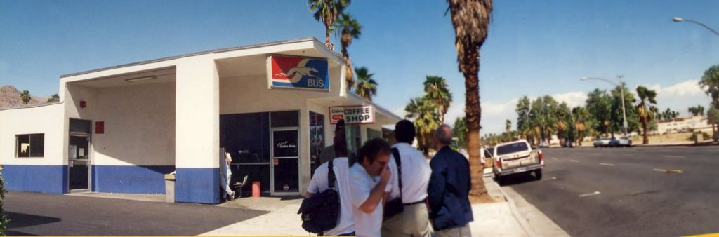 Greyhound Bus Station - Palm Springs