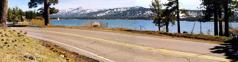 Highway at Moon Camp - Big Bear