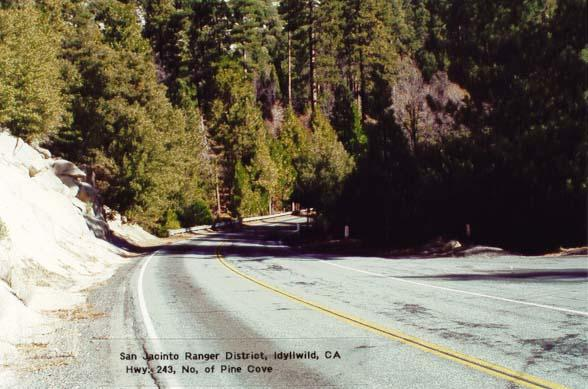 Highway 243 - North of Pine Cove