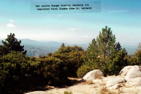 Inspiration Point - Idyllwild