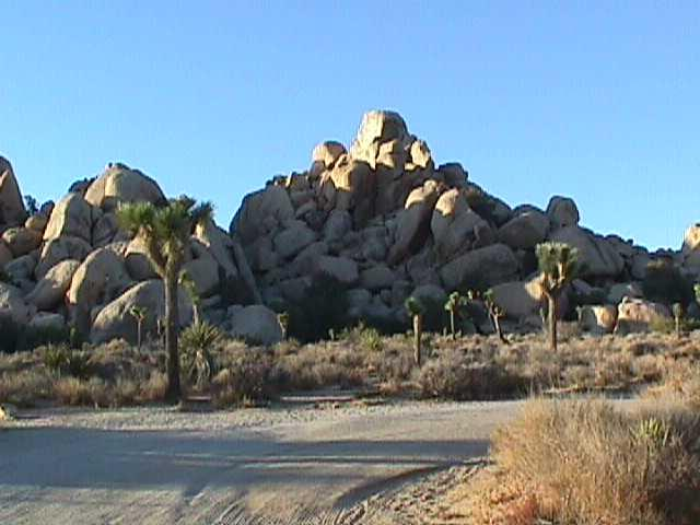 Joshua Tree National Park Hidden Valley