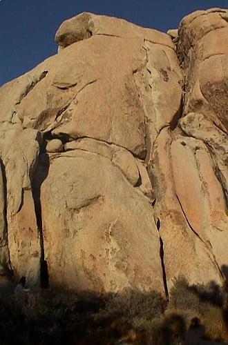 Joshua Tree National Park Intersection Rock