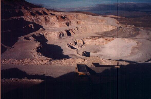Mitsubishi Cement Quarry - Lucerne Valley