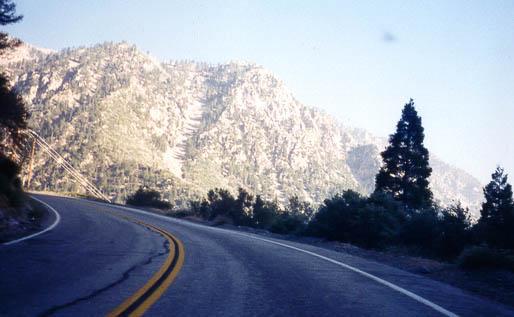Mt Baldy Road - Mt Baldy