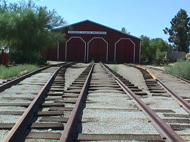 Orange Empire Railway Museum - Train dock