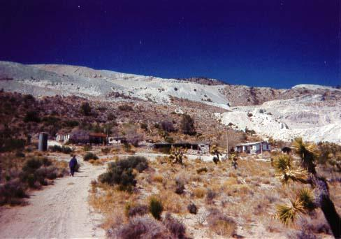 Partin Limestone Mine - Lucerne Valley