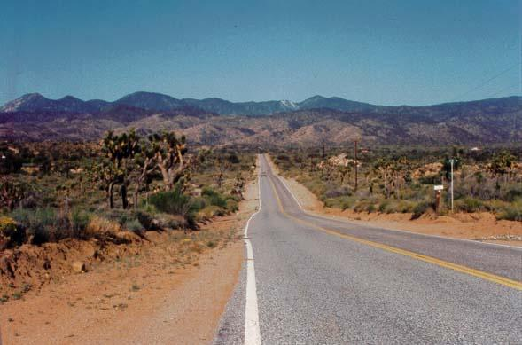 Pipe Canyon Road - Yucca Valley