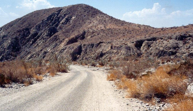 Road to Berdoo Canyon