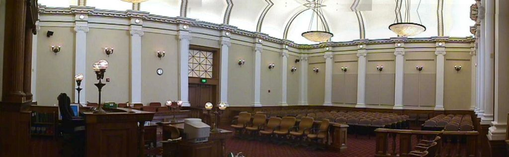 Riverside County Courtroom
