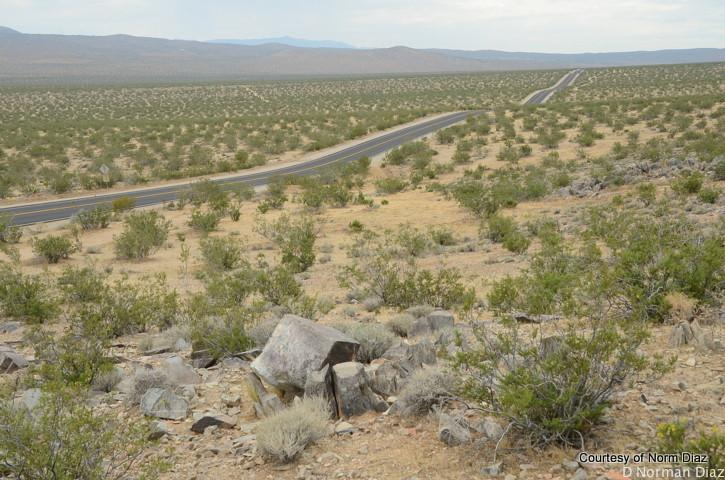 Searles Station cutoff - Trona road