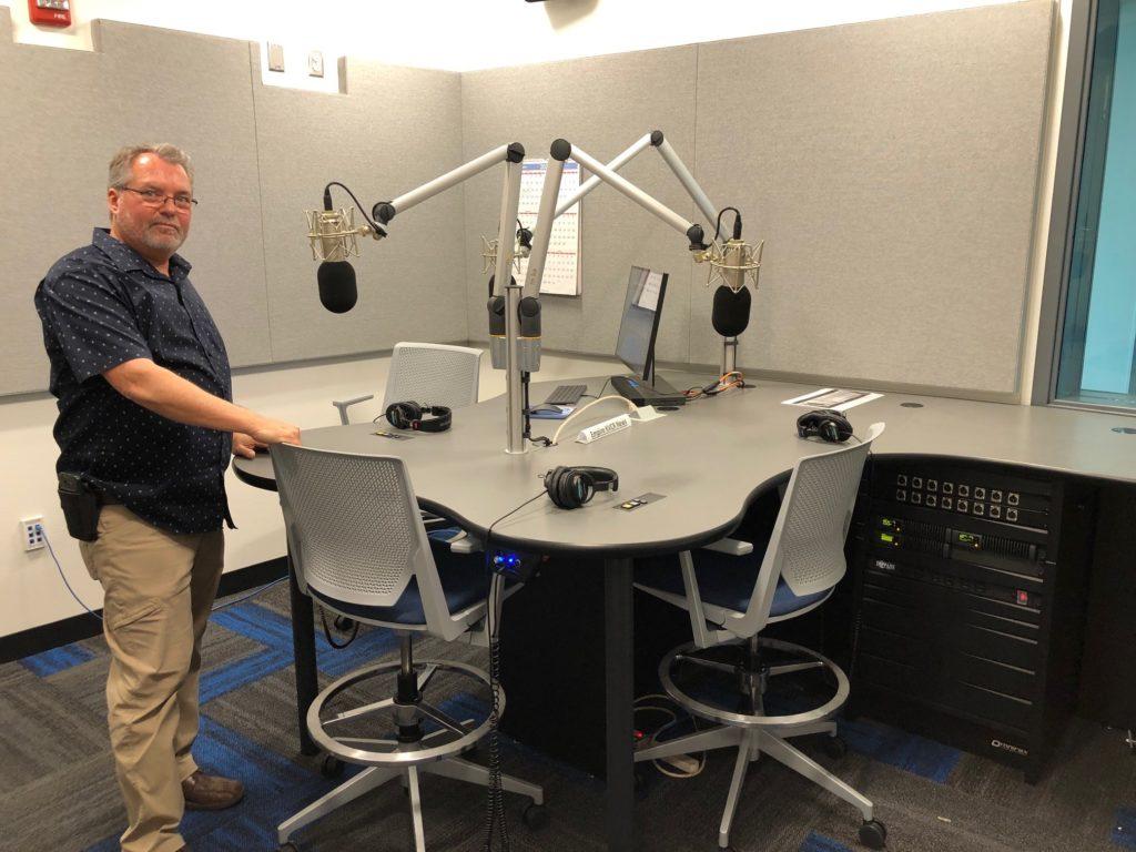KVCR   San Bernardino   Radio Studio 02