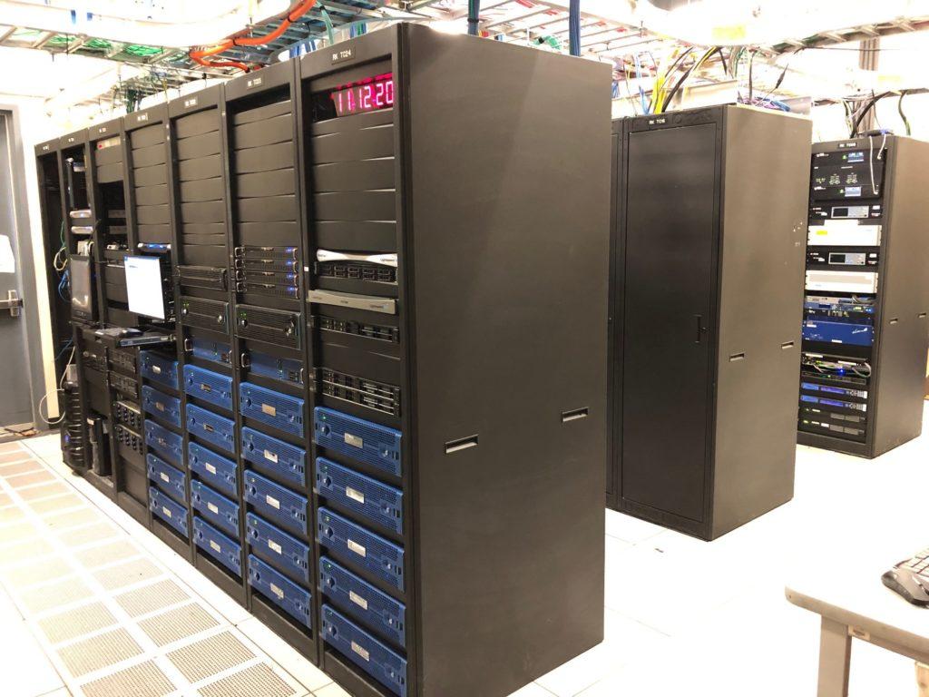 KVCR   San Bernardino   Computer Farm