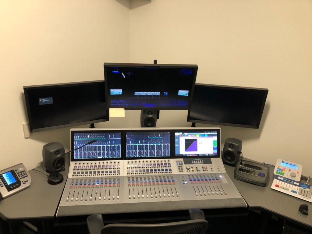 KVCR   San Bernardino   Radio Studio 04
