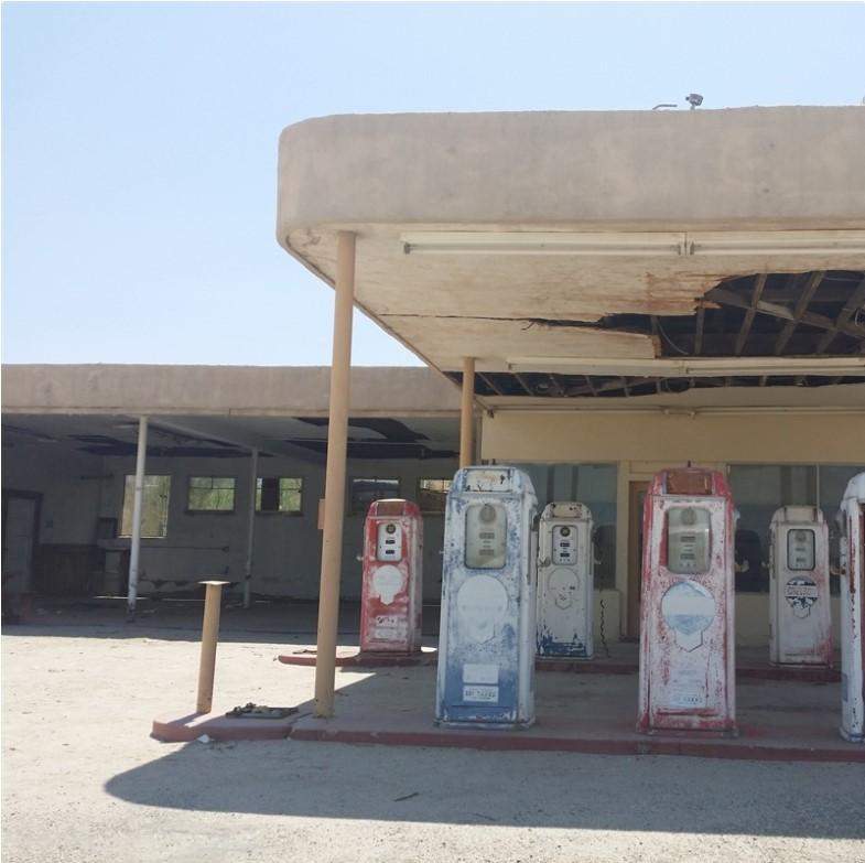 Desert Center Gas Station   Desert Center