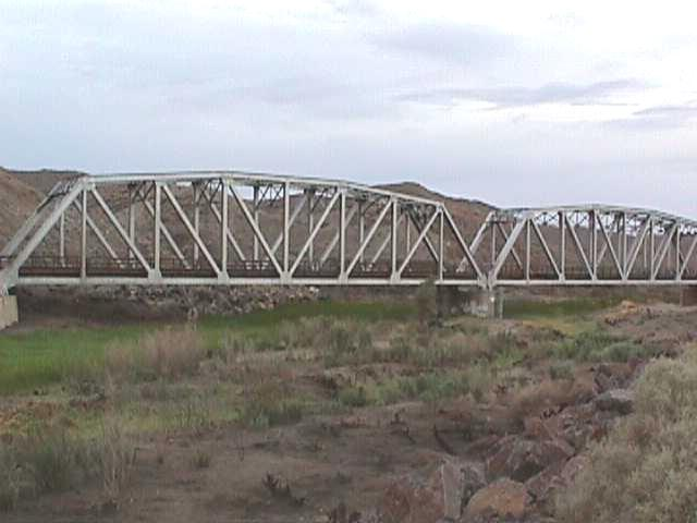 Afton Canyon bridge - Barstow