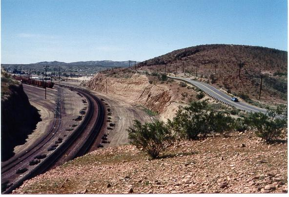 Barstow train tracks