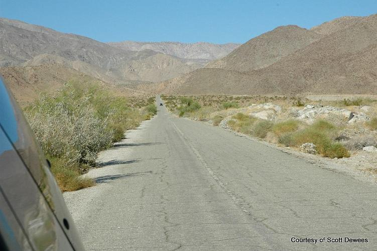 Berdoo Canyon Road - Indio