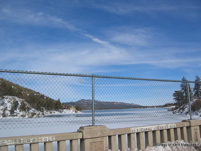 Big Bear Lake bridge - Big Bear Lake