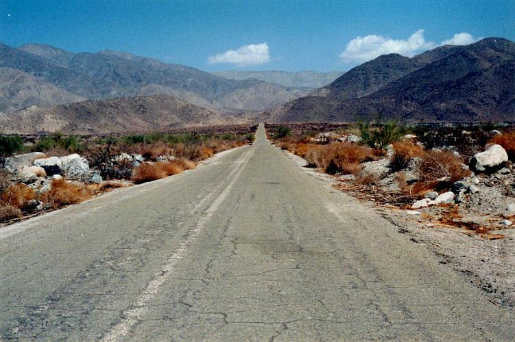 Dillon Road east end - Indio