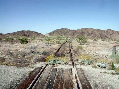 Eagle Mountain Road train tracks