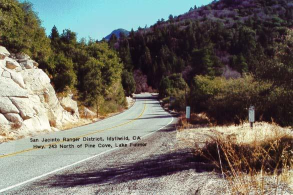 Highway 243 - Idyllwild