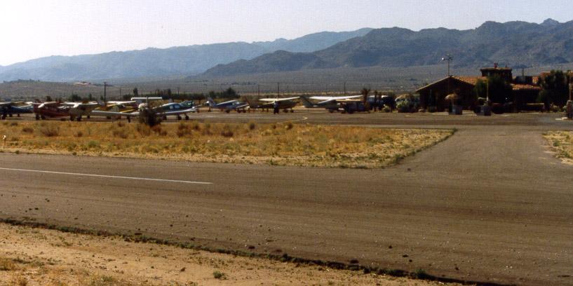 Roy Williams Airport (aka High Desert Airport; Hi-Desert Airport; Joshua Tree Airport) - Joshua Tree