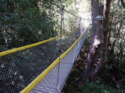 Loch Leven Camp Swing bridge