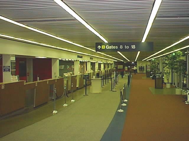 Ontario Airport - Ticket Counter