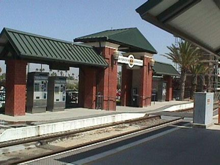 Riverside Metrolink Station