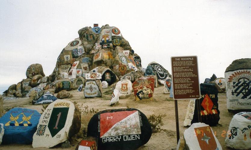 Rockpile - Fort Irwin