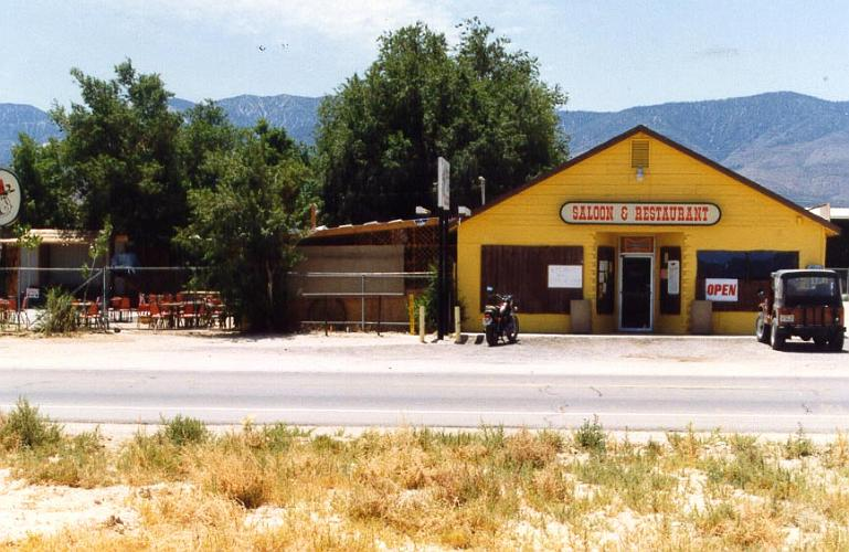 Saloon and Restaurant - Lucerne Valley