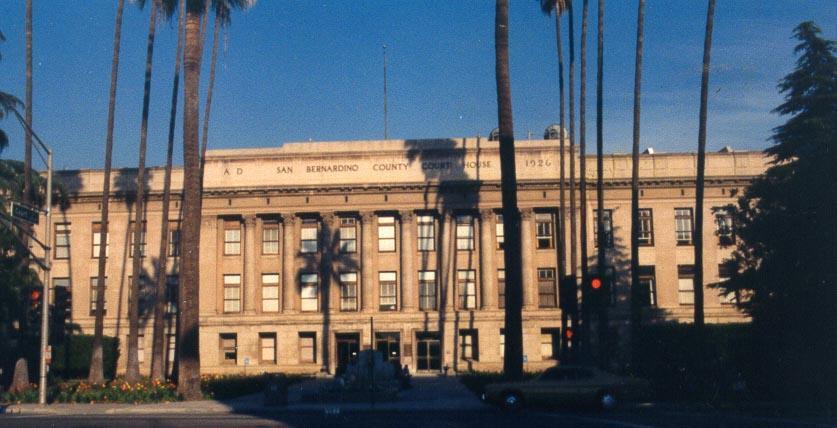 San Bernardino County Court House