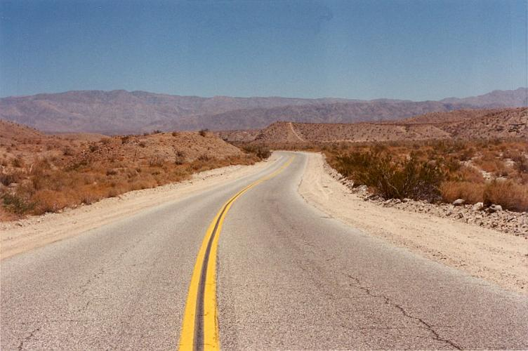 Thousand Palms Canyon Road - Thousand Palms