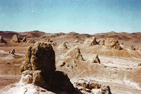 Trona Pinnacles - Trona