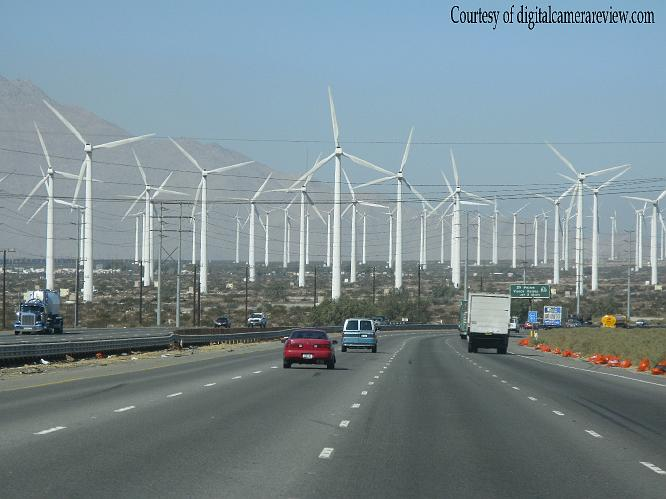Turbines off 10 Fwy - North Palm Springs