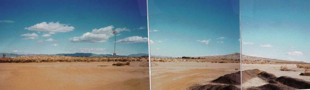 Twentynine Palms Airport dirt strip