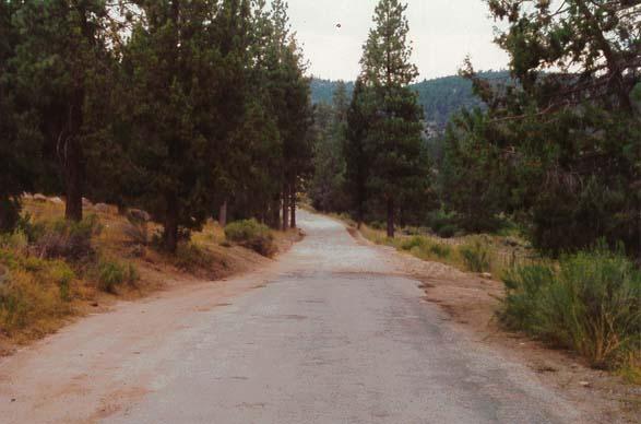 Van Dusen Canyon Road